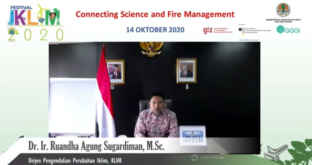 SEMINAR FESTIVAL IKLIM 2020: CONNECTING SCIENCE AND FIRE MANAGEMENT